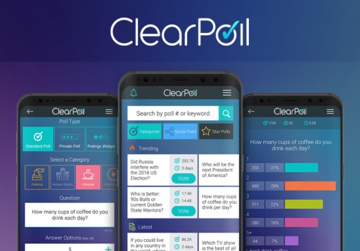 ClearPoll Launches Groundbreaking Decentralised Opinion Poll App