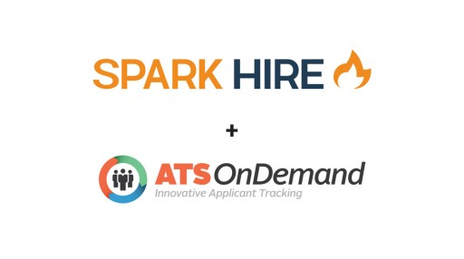 Spark Hire and ATS OnDemand Integrate to Help SMBs Hire Faster With Video Interviews