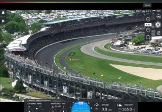 Indy 500 from DroneSense Pilot App