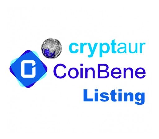Cryptaur (CPT) to Be Listed on CoinBene, One of Asia's Largest Cryptocurrency Exchanges
