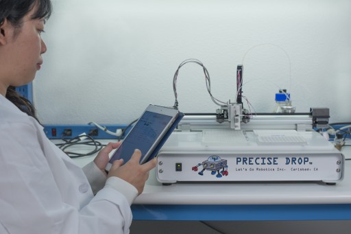 Let's Go Robotics Announces Precise Drop™ Micro-Dispensing Systems