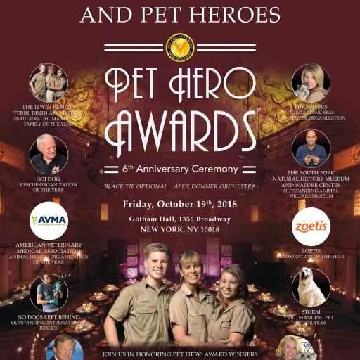 Pet Philanthropy Circle Announces the 2018 'Pet Hero Award Winners'