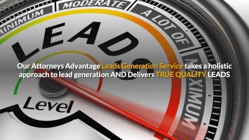 Exclusive Lead Generation For Attorneys 855-943-8736