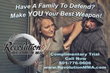 Revolution MMA Women's Self Defense