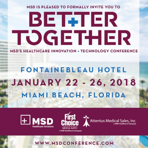 MSD Announces Powerful Speaker Lineup at Second Annual Healthcare Innovation & Technology Conference, Better Together 2018
