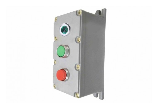 Larson Electronics Releases 120V AC Explosion Proof Control Station, CID1, Red & Green Push Buttons