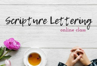 The Scripture Lettering Online Class