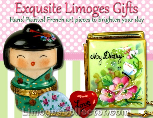 New Fun and Whimsical Exclusive French Limoges Boxes Arrive at LimogesCollector.com