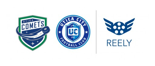 REELY to Power AI-Generated Highlights for Utica Comets and Utica City FC for the 2019-2020 Season