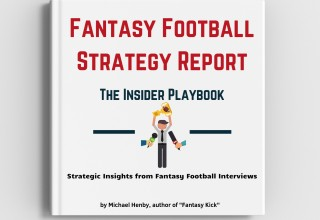 The Fantasy Football Strategy Report - The Insider Playbook