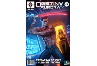 Destiny Aurora Issue #3 Cover