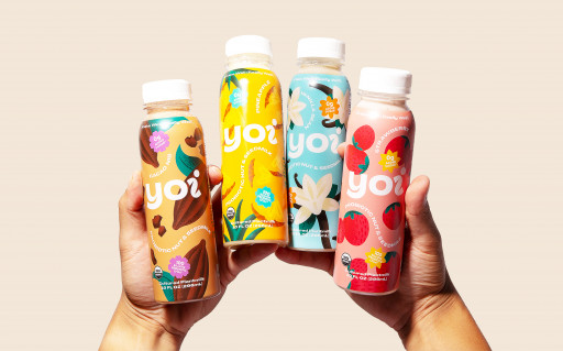 Former Dairy Industry Duo Creates Yoi — Deliciously Tangy Plant-Based Beverages