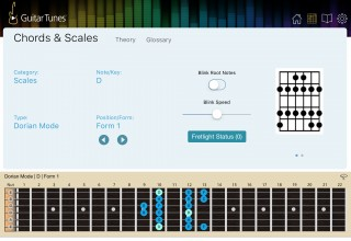 Easy Chords & Scales with the Virtual Fretboard
