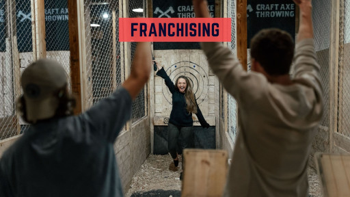 Craft Axe Throwing Launches New Franchise Business