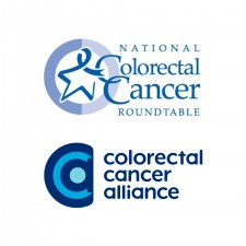 Colorectal Cancer Alliance and National Colorectal Cancer Roundtable Logos