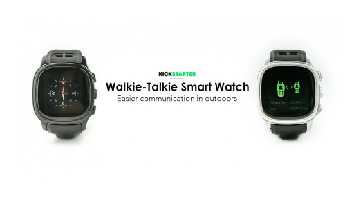 L8STAR Announces the Launch of StarVox, the World's First Walkie-Talkie Smartwatch for Easy Outdoor Communication