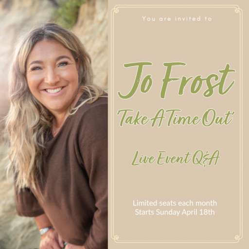 Global Parenting Expert, Jo Frost, Launches Virtual Event Series 'Take a Time Out', Providing Families With Parenting Support