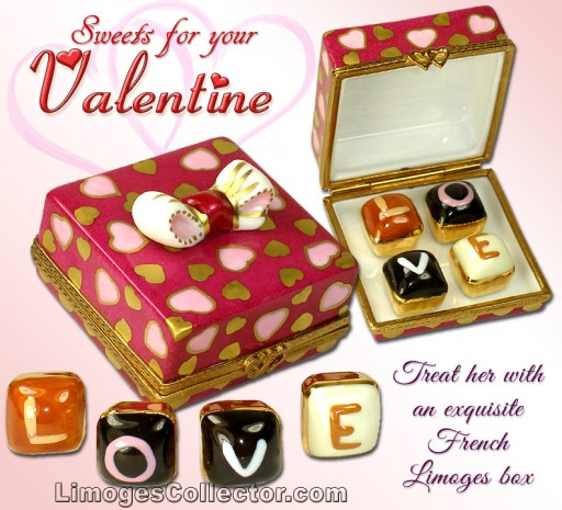 "Valentine's Day Limoges Box Gifts That Say ""I Love You"" at LimogesCollector.com Plus Free Shipping Bonus"