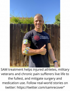 SAM treatment helps injured athletes, military veterans and chronic pain sufferers