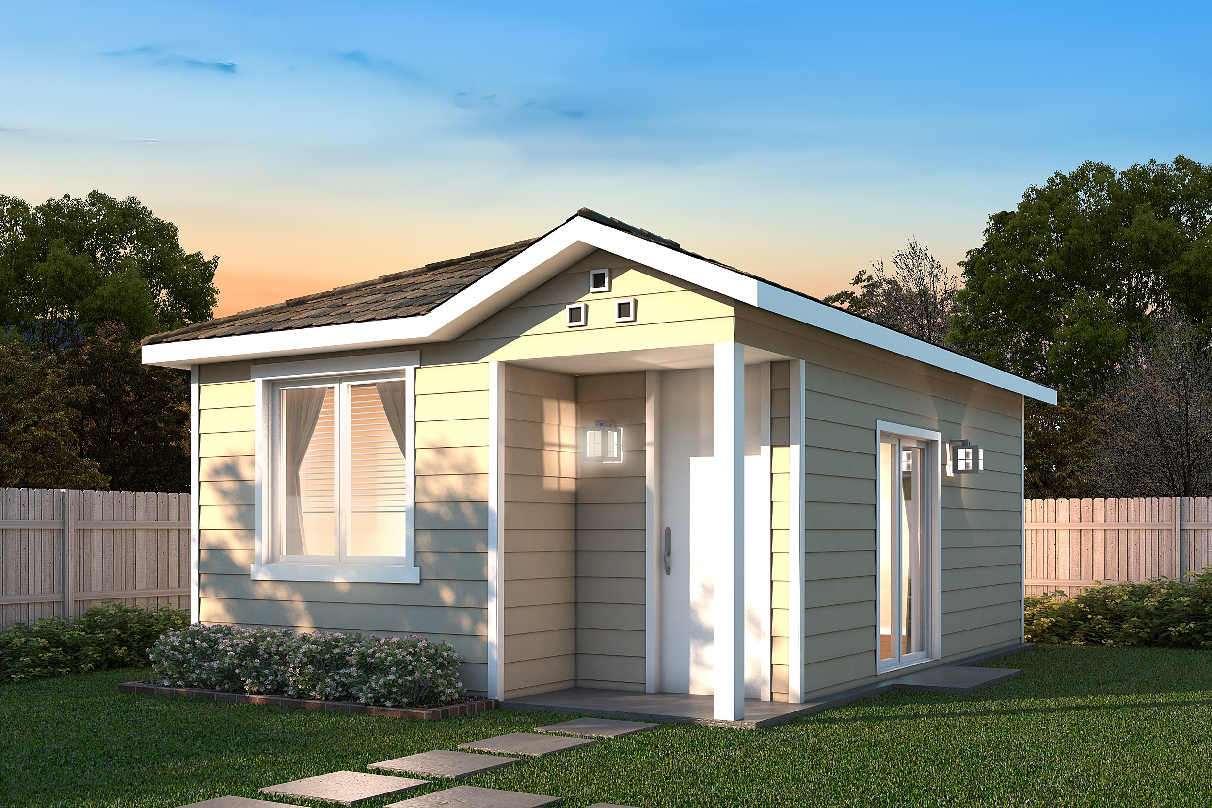 G j gardner homes debuts 10 new granny flat designs - Home design with attached granny flat ...