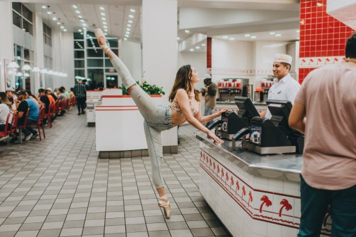 Ballerina Orders In-N-Out in First of New Concept Photography Series From Albert Halim