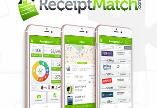 ReceiptMatch Promo Screens