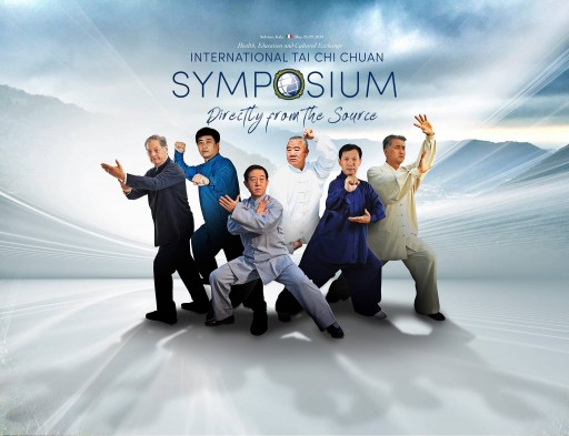 Six Traditional Tai Chi Masters and Tai Chi Researchers at International Symposium in Italy