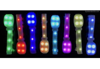 Xylobands Intelligent LED Wristbands Feature 360 Degrees of Light