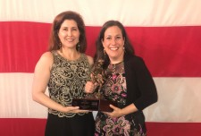 Co-Founders of WWC with the Small Business Award for Veteran and Military Spouse Employment