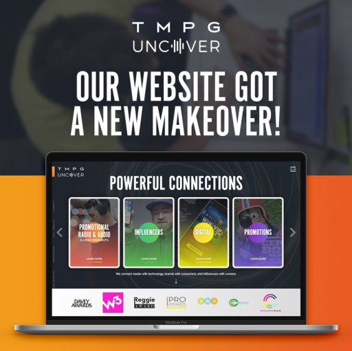 TMPG/Uncover Launches a New Website