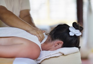 Massage School Clinic Client