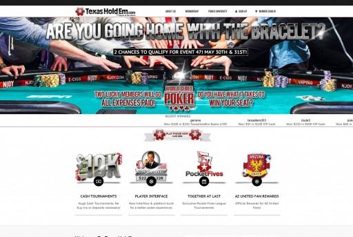 TexasHoldEm.com Announces Launch of New Online Poker Beta Program