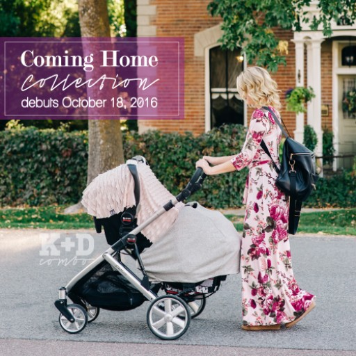 KD Combo Introduces the Tailored Fit Car Seat Cover in Their Coming Home Collection