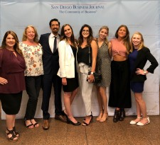 Sullivan team at the SDBJ award ceremony