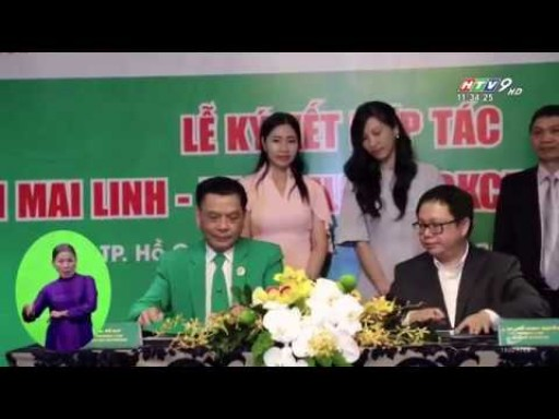 Our partnership with Mai Linh, Vietnam's largest taxi company, being featured on Vietnam National TV