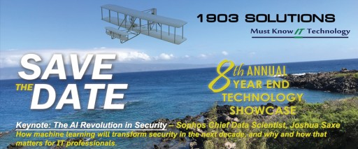 Alvaka Networks' COO/CISO Kevin B. McDonald to Present at 1903 Solutions' 8th Annual Technology Showcase