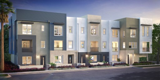 Construction Underway at C2E, Irvine's New Urban Boutique Townhome Community