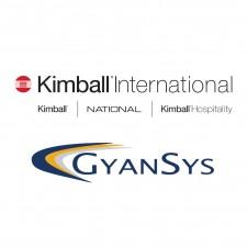 Kimball International and GyanSys Logos