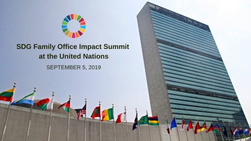5th Element Group PBC, Gitterman Wealth Management, and Family Office Insights to Co-Host First SDG Family Office Summit at United Nations
