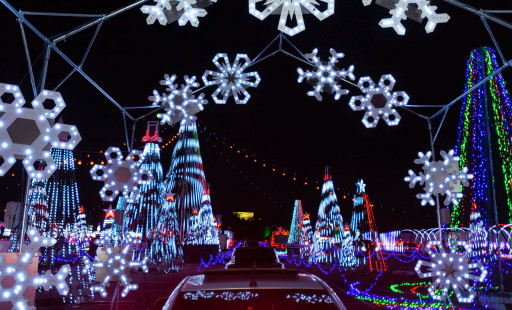 World's Largest Drive-Through Animated Light Show Opens in Atlanta Suburb