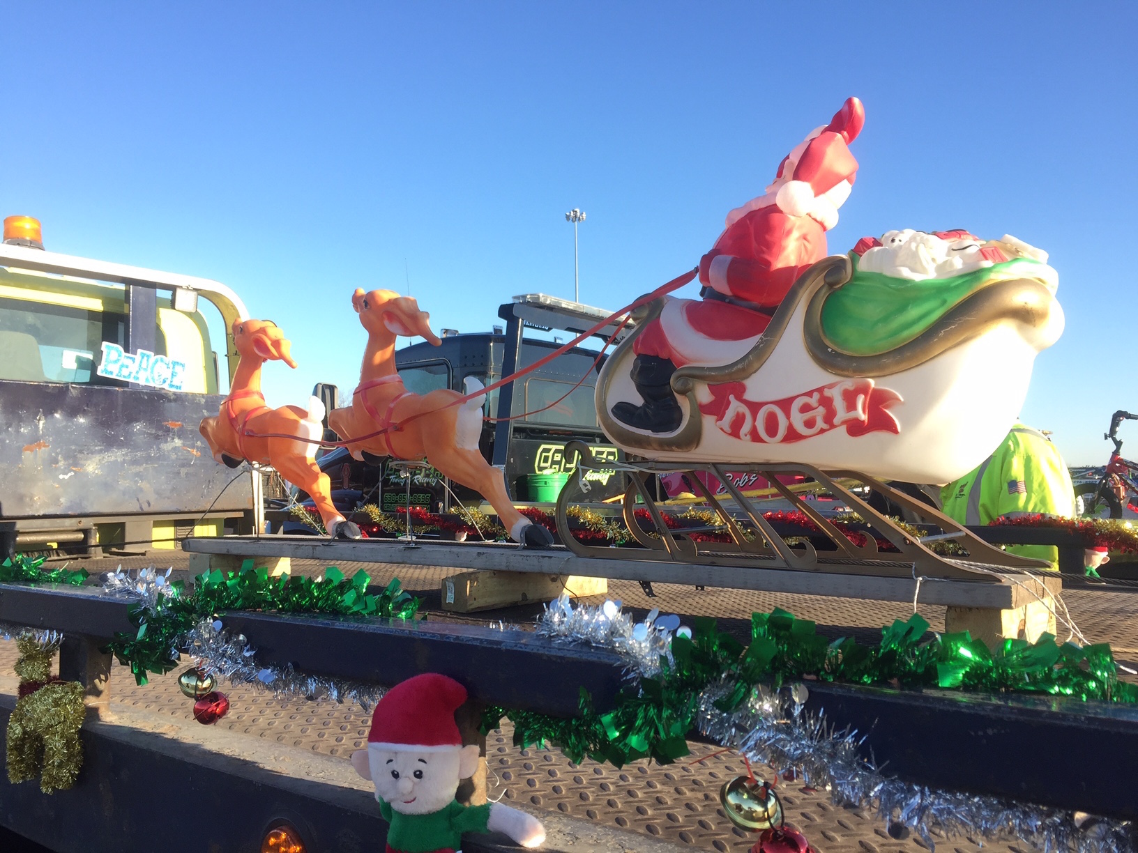 tow trucks for tots aims for guinness book of world records newswire