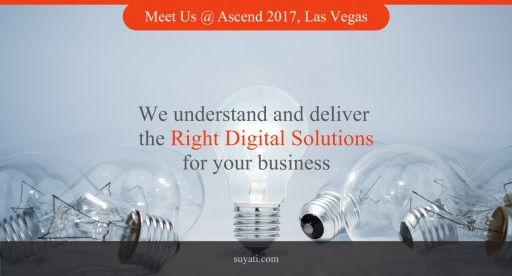 Suyati Inc is Silver Sponsor of Ascend 2017 at Las Vegas