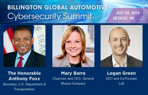 Billington CyberSecurity's Inaugural Auto Cybersecurity Summit Features Heads of GM, Lyft, General Dynamics, DOT & NHTSA