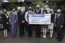 Subaru of Pembroke Pines Share the Love Check Presentation