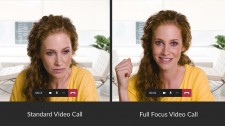 NUIA Full Focus ensures eye contact in video calls