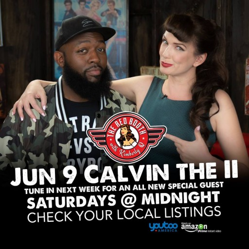 Calvin The II Breaks Onto the Scene in THE RED BOOTH This Weekend