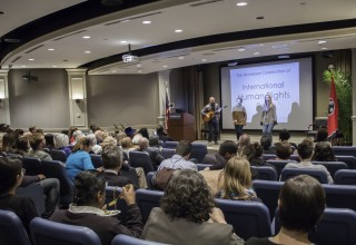 Human Rights Day celebration at First Amendment Center in Nashville, Tennessee