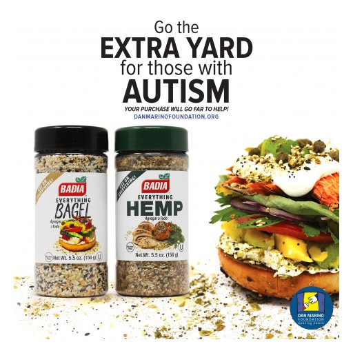 The Dan Marino Foundation and Badia Spices Partner to Raise Autism Awareness and 'Go the Extra Yard for Those With Autism'