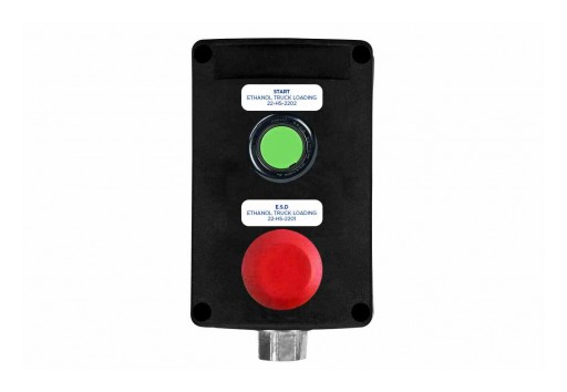 Larson Electronics Releases Explosion Proof Control Station, ATEX/IECEx Rated, 24V, NEMA 4X