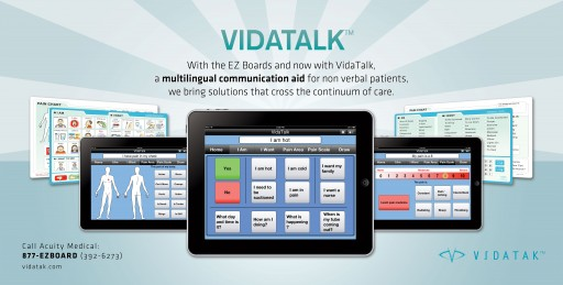 New Comparison Study Shows Patients Over the Age of 60 Are 3-5 Times More Likely to Choose Vidatak's Communication Products